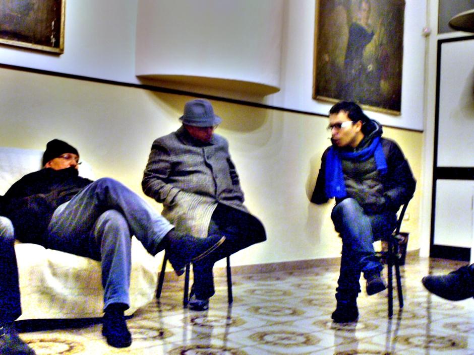 Ambientalisti nella Canonica di San Michele, Schiava di Casamarciano