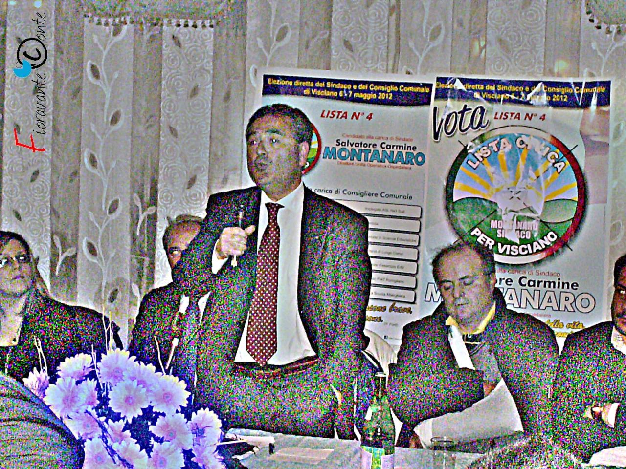Visciano, Carmine Montanaro, elezioni 2012