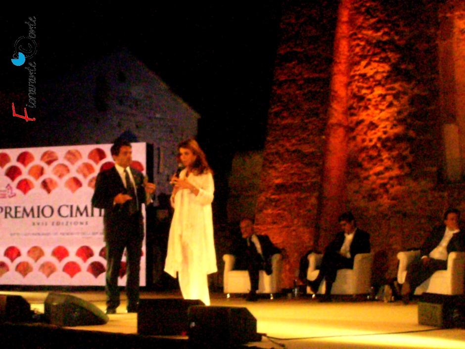 Paola Saluzzi premiata a Cimitile