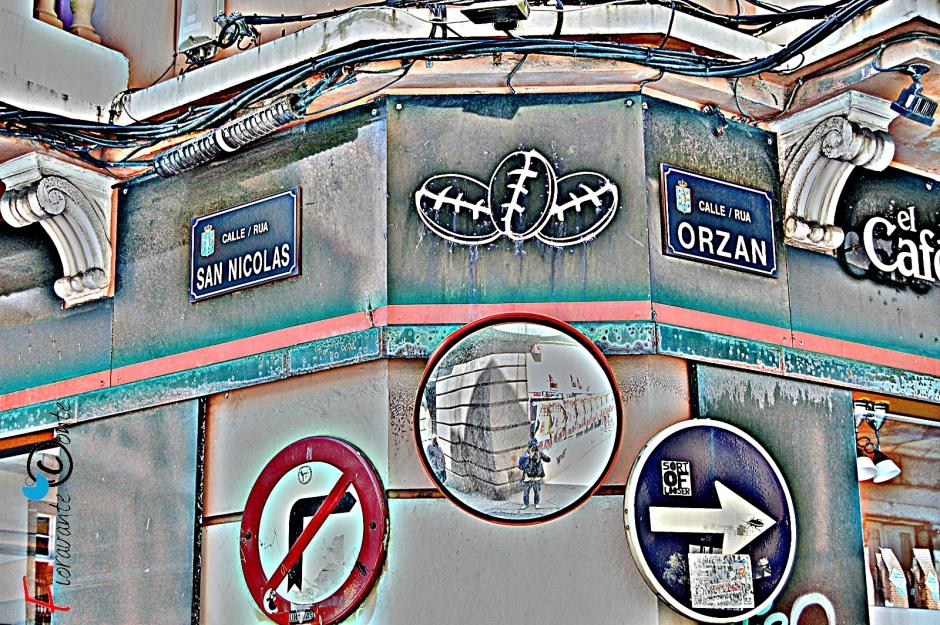 La Coruña, Rua Orzan