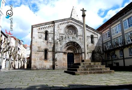 La Coruña, Colexiata de Santa Maria del Campo