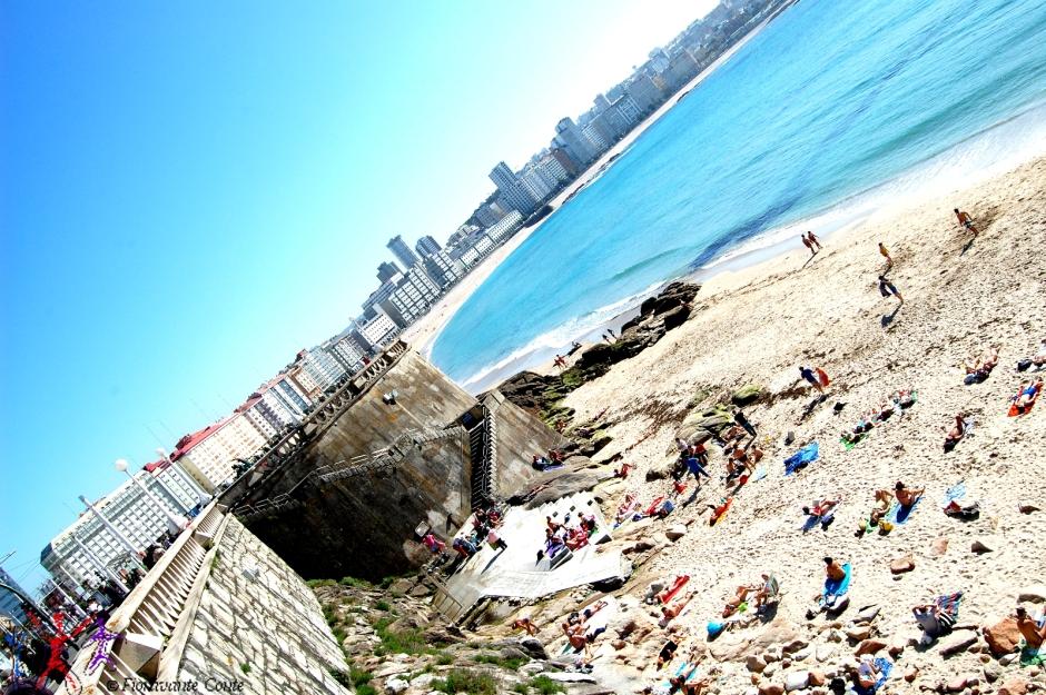 Spiaggia La Coruña