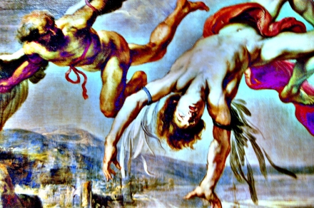 Jacob Peter Gowy (1615-1661)- La caida de Icaro