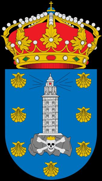 Stemma La Coruña