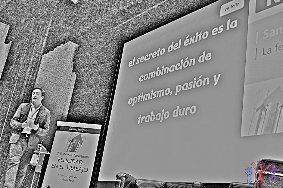 FET2013, Felicidad  En El Trabajo, Santiago Vazquéz