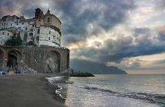 FioreVagabondO in CampaniA: Atrani, un presepe sul mare