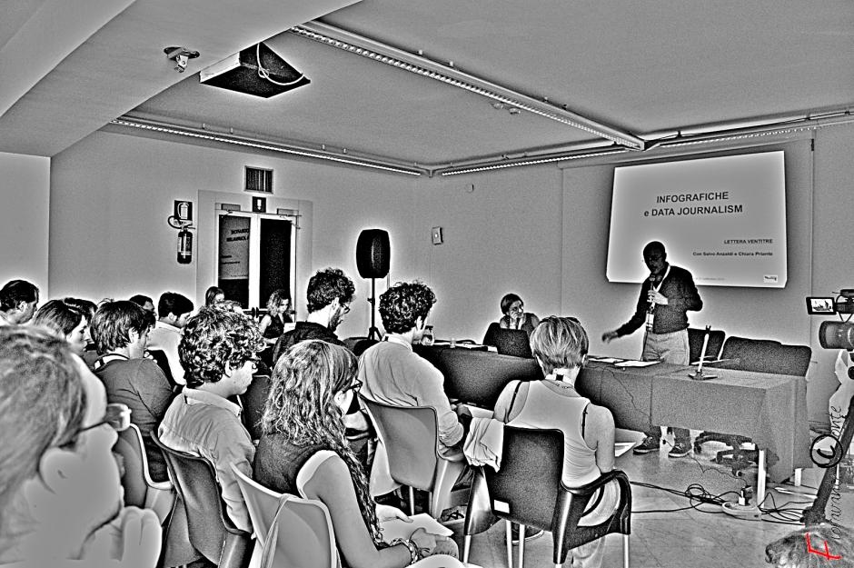 Seminario sull'Infografica. Lettera 23: Salvo Anzaldi e Chiara Priante