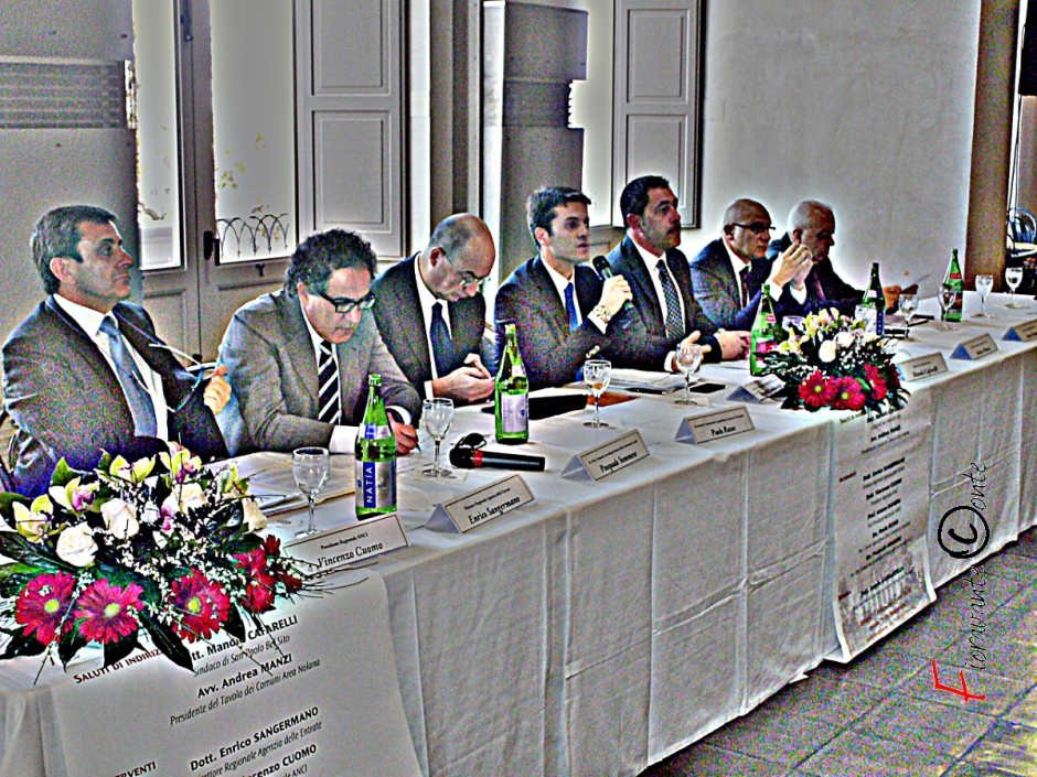 Villa Montesano, incontro  politici e amministratori territorio nolano