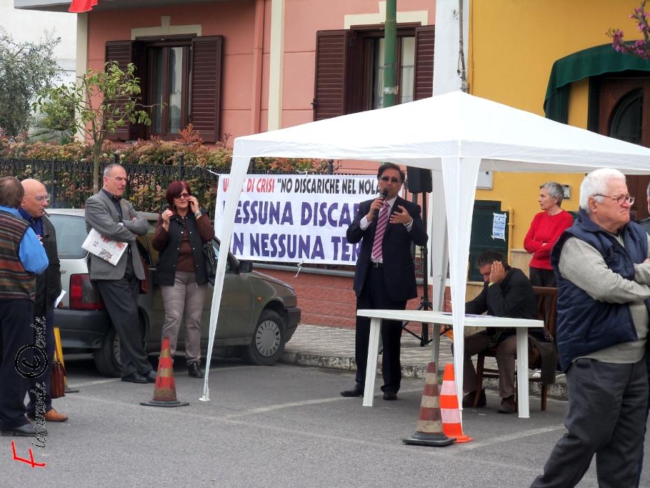 No Discariche in Nessuna Terra. Gennaro Esposito, AssocampaniaFelix