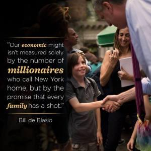 Divario economico Bill De Blasio