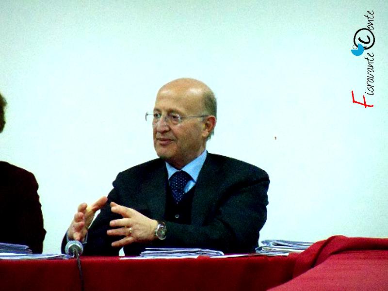 Il Sindaco di Tufino, Carlo Ferone