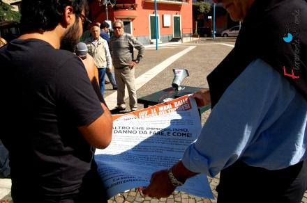 Tufino, contro aumenti tasse Nicola Di Mauro
