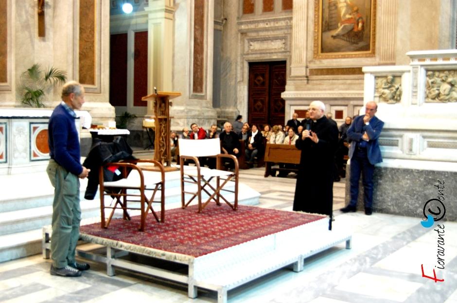 Erri De Luca e Vescovo Beniamino Depalma a Nola