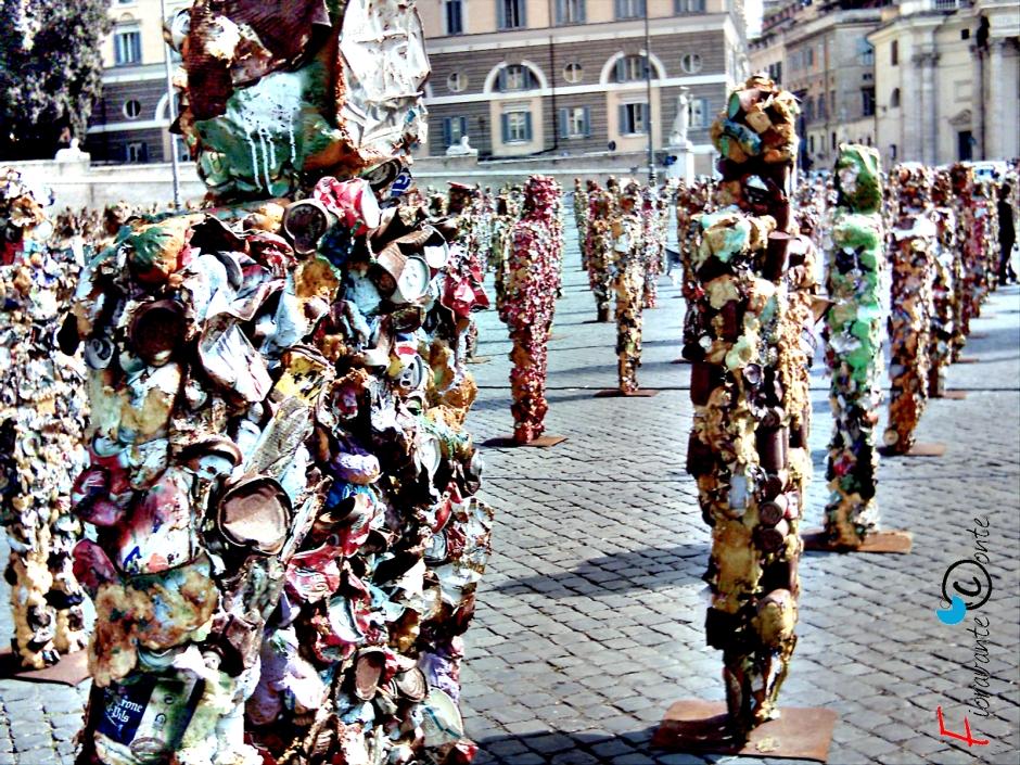 Ha Schult, Roma, Piazza del Popolo