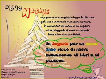 #BuoNatale e #FeliceAnnoNuovo