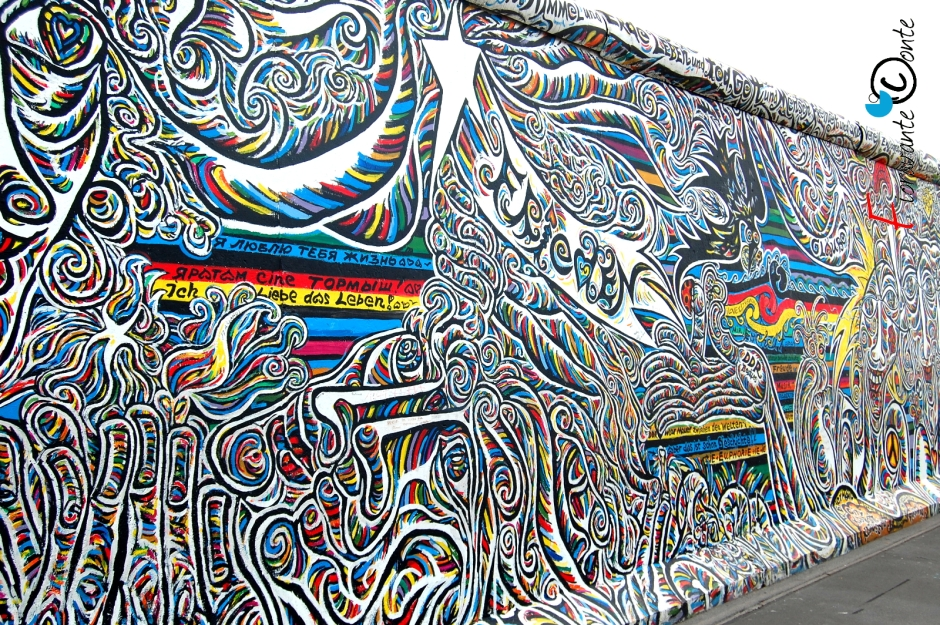 Berlino, East Side Gallery, Tutti i colori del mondo