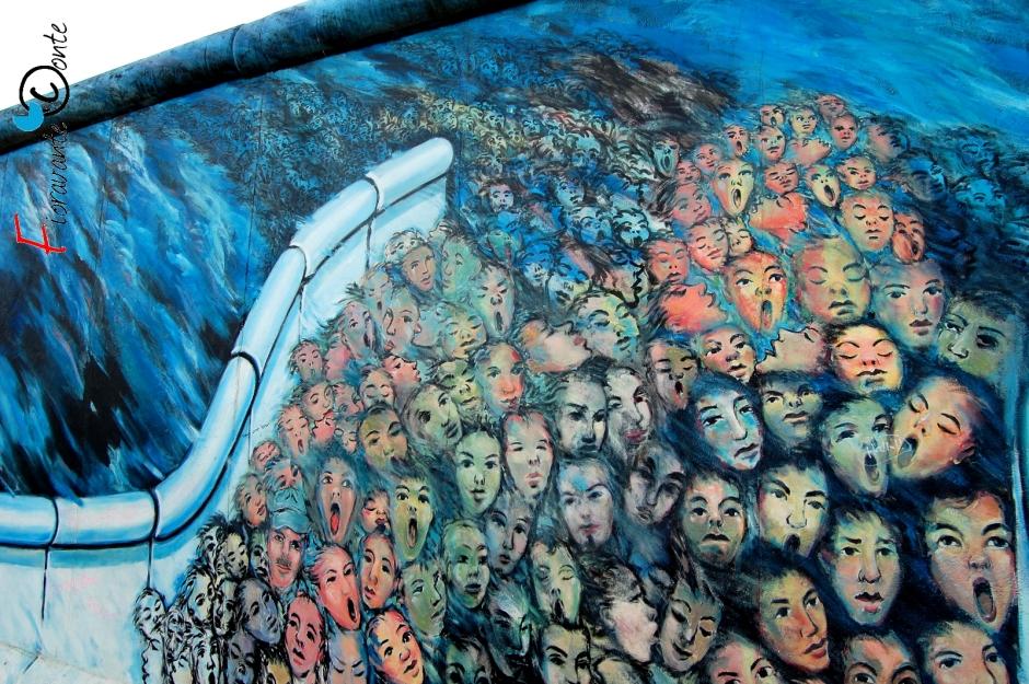 Berlin, East Side Gallery, la morte e terrore
