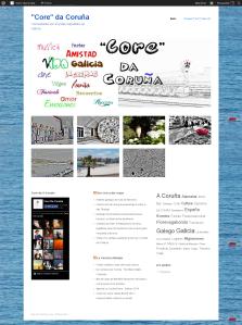 Core de La Coruna en Galicia