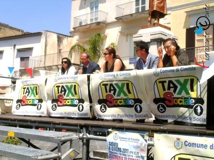 Massimo Scala, Taxi Sociale a Cimitile