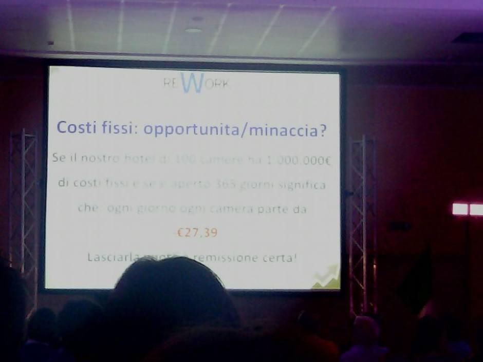 Costi fissi opportunità o minaccia, ReWork